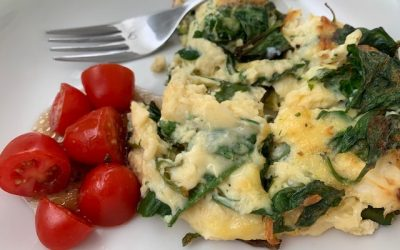 Feta and Spinach Frittata