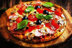 Pizza in Travellers Fare Fast and Fabulous Meals for Travellers