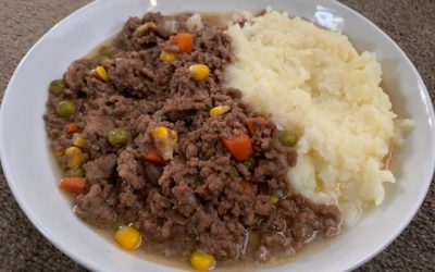 Savoury Mince – Served With Mashed Potato
