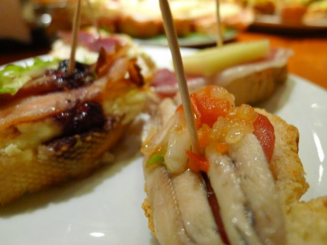 Tapas Is Finger Food From Spain.