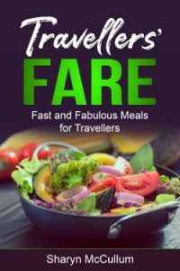 Travellers Fare Updated Front Cover Of Ebook With A Bowl Of Salad On The Front.